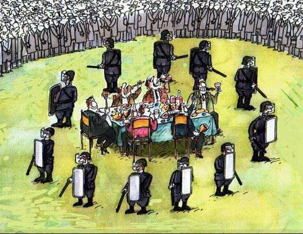 Il colpo di Stato delle élite: monopoli privati, neoliberismo e Massoneria neoaristocratica